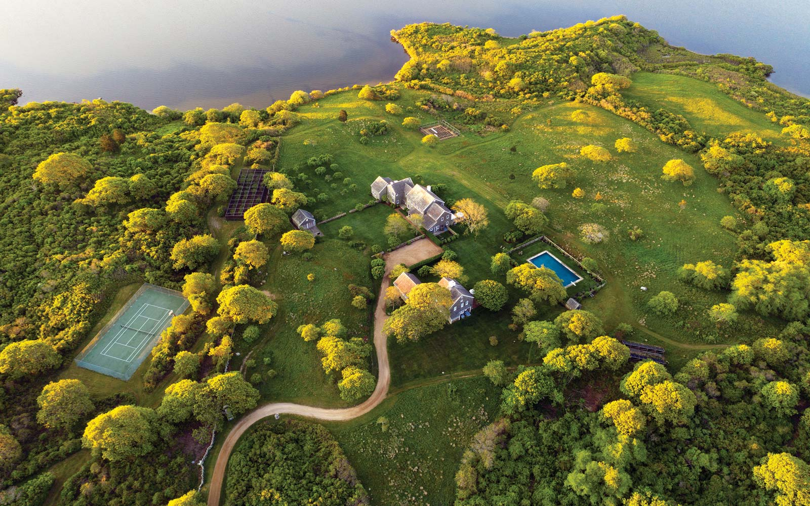 Jackie O's Luxurious Martha's Vineyard Estate Is on the Market for $65 Million — See the Photos