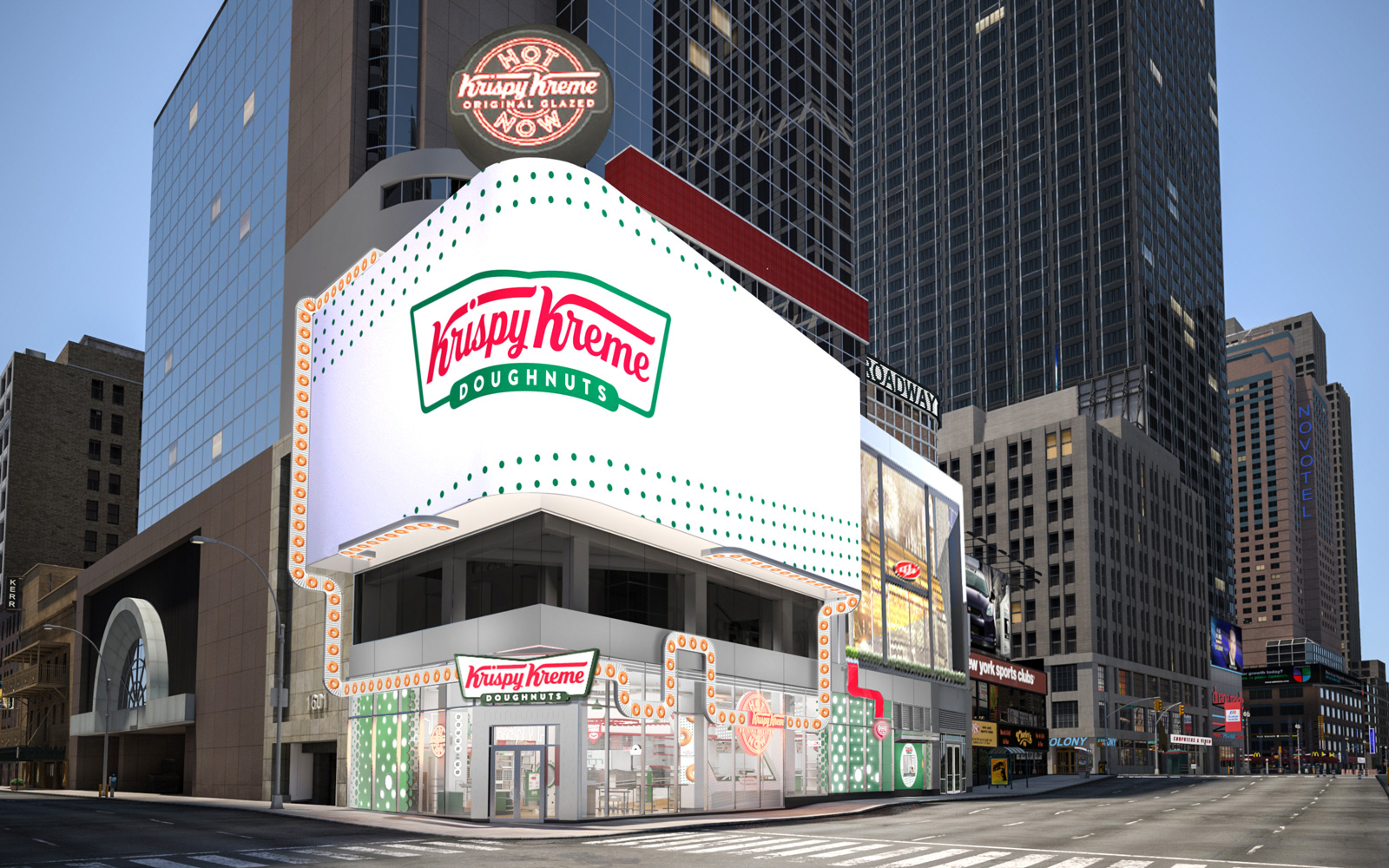Krispy Kreme Is Opening the Ultimate Donut Shop in Times Square