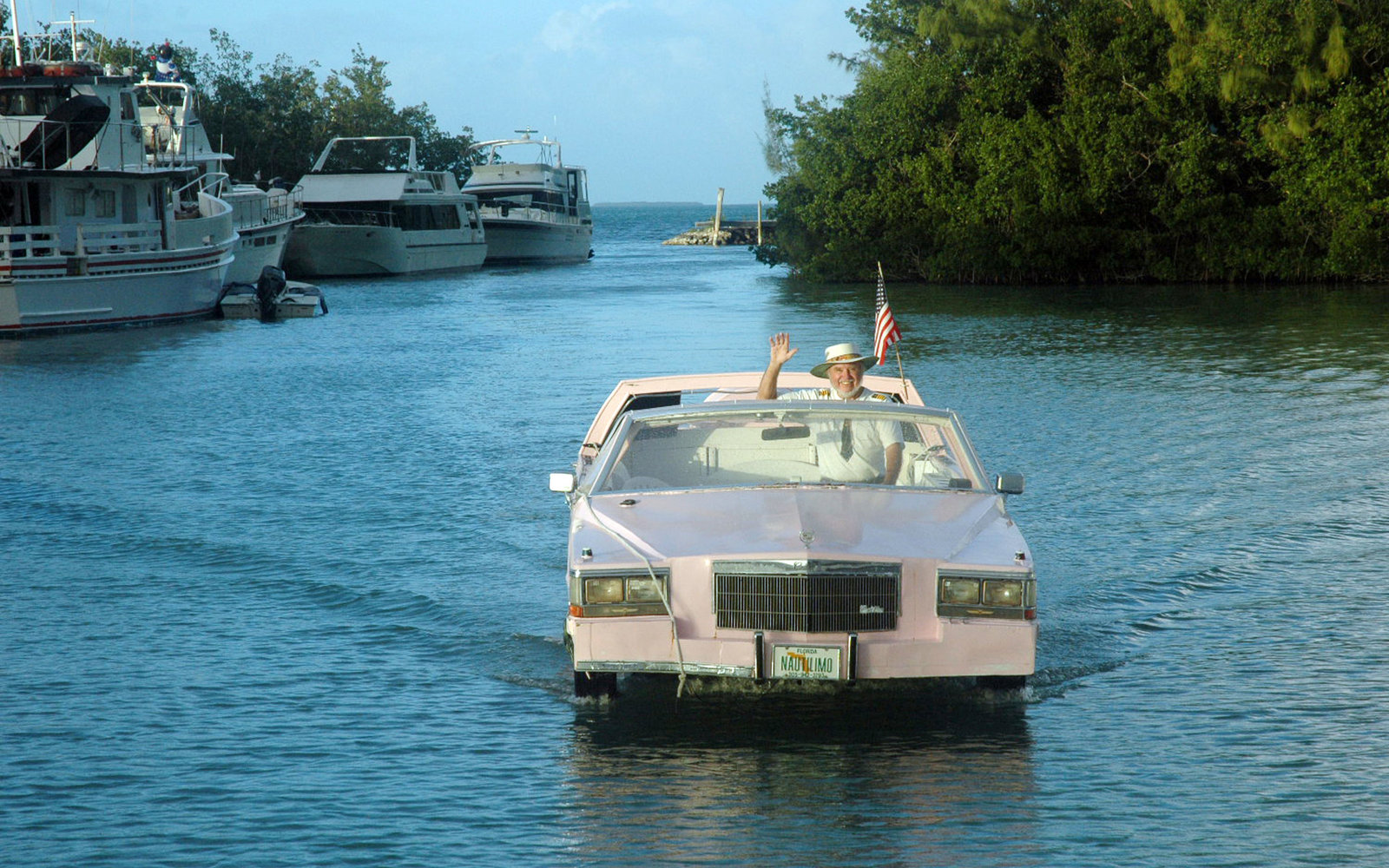 You Can Cruise Through the Florida Keys in a Pink Cadillac Convertible — Here's How