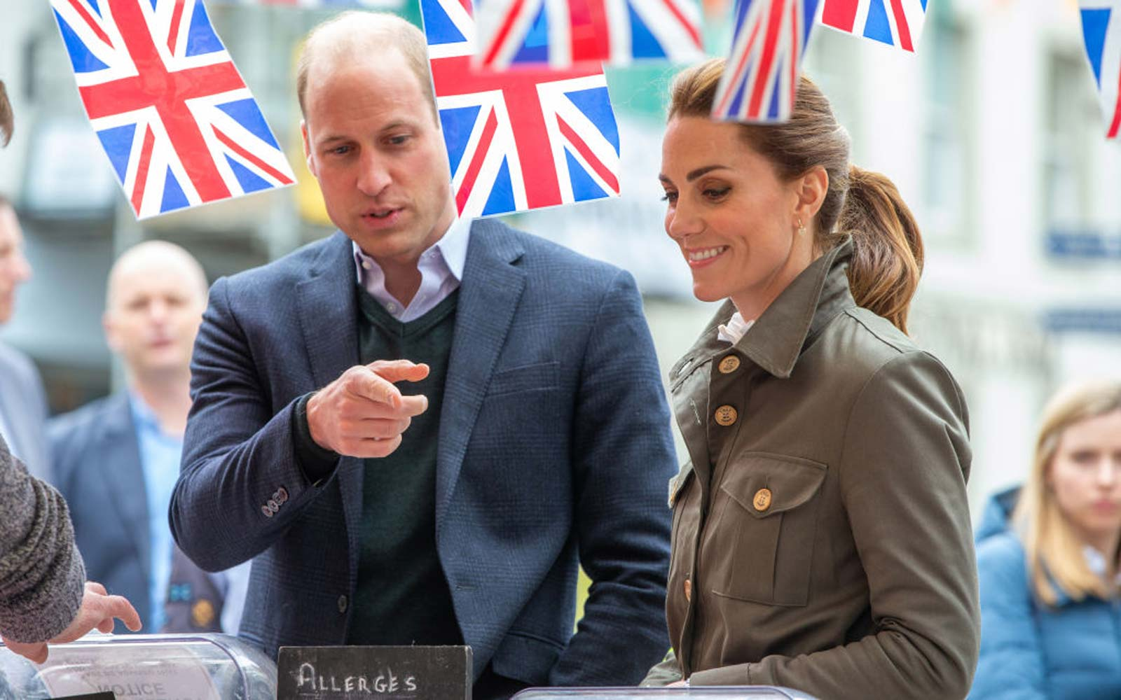 Kate Middleton and Prince William Visit English Countryside Where Kate Vacationed As a Kid