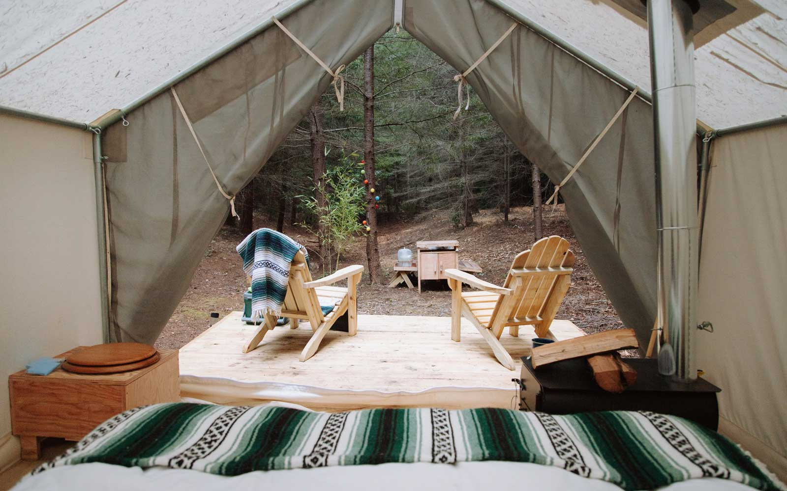 This Glamping Site Lets You Rent a Luxury Tent on Some of America's Most Beautiful Private Properties — From a Lavender Farm in Maine to a Secret Redwood Forest in California