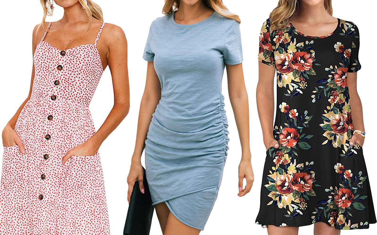 The Top 10 'Most Wished for Dresses' on Amazon Are All Under $25