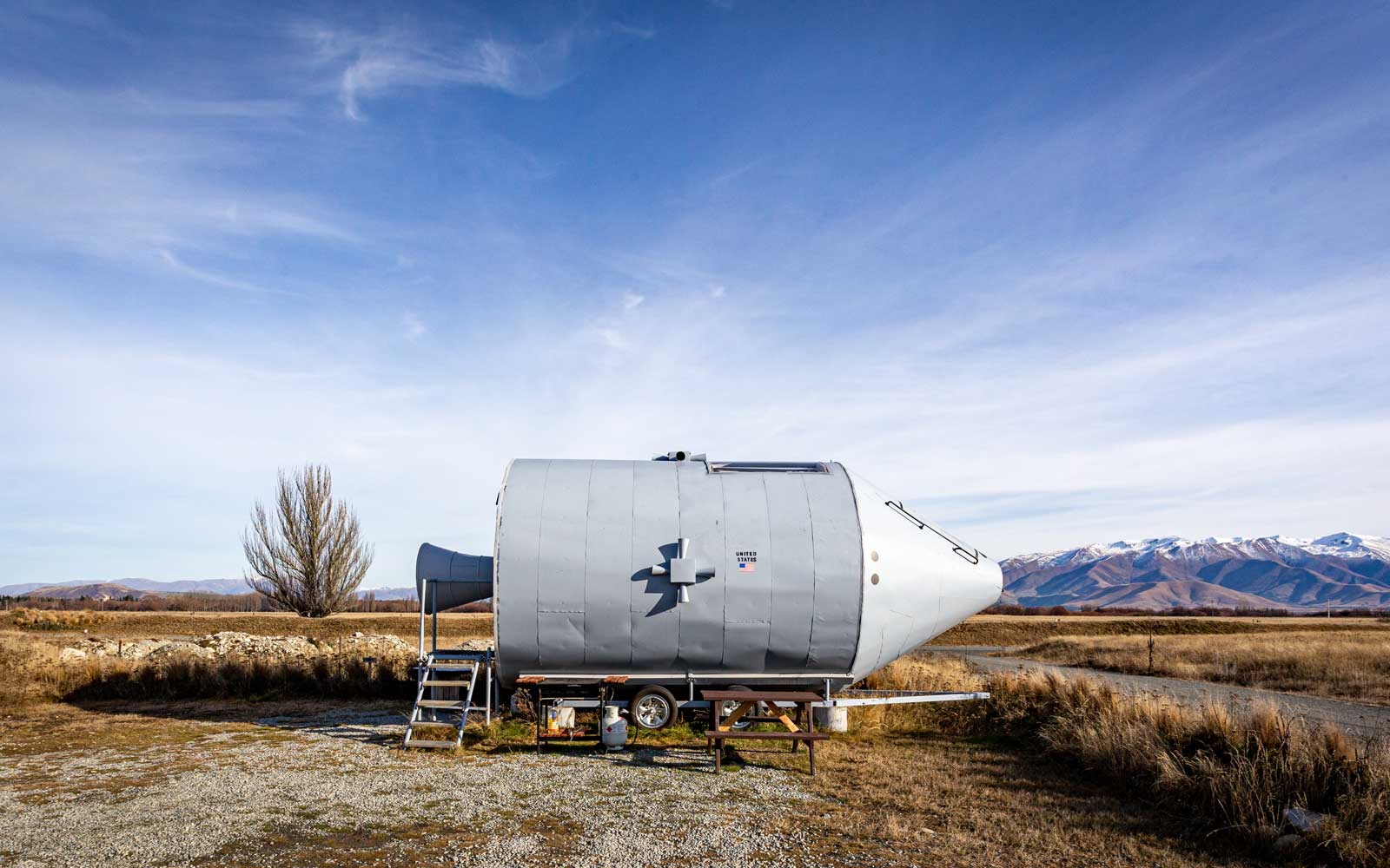 Apollo 11 Space Ship Airbnb, New Zealand