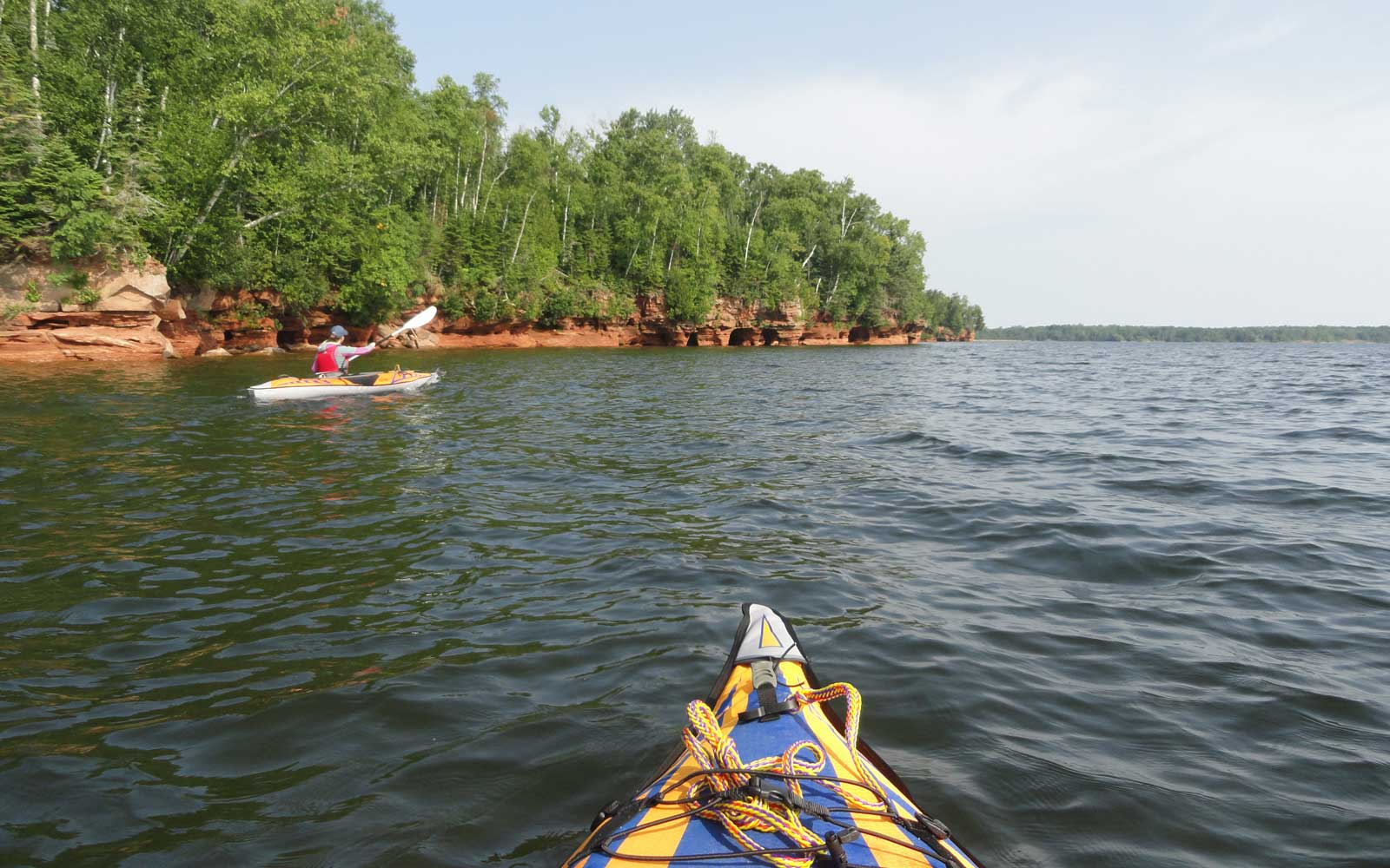 Explore a range of islands at the Apostle Islands National Lakeshore.