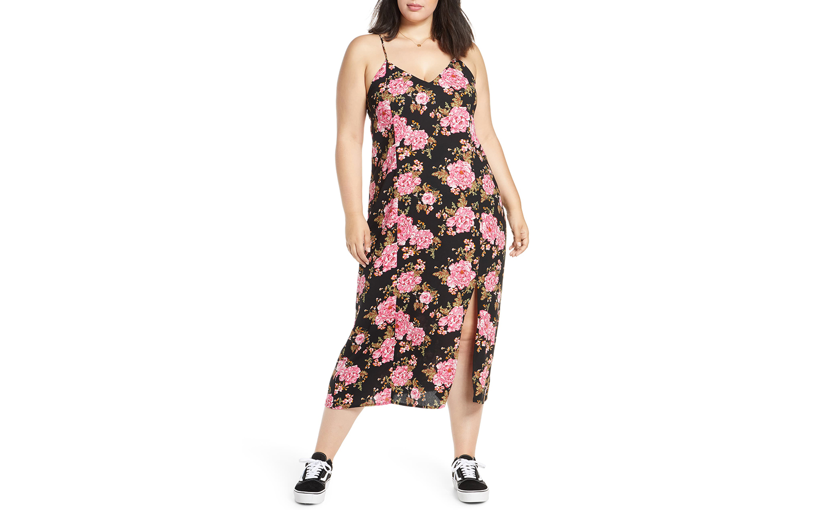 BP Print Midi Slipdress
