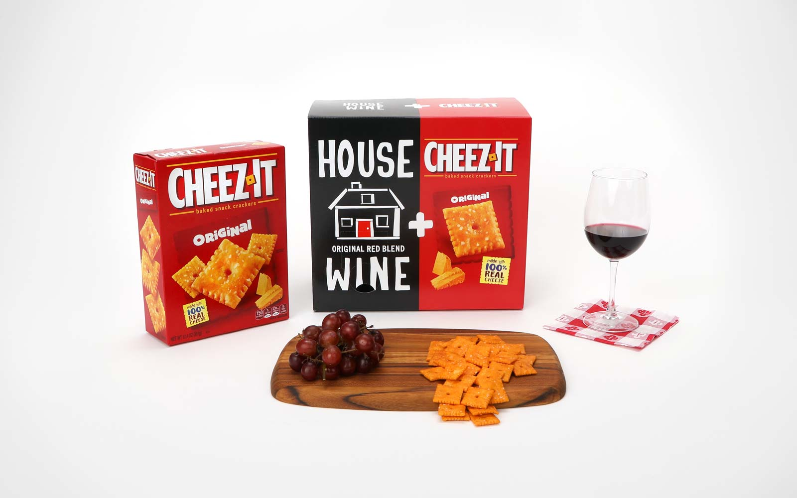 This Cheez-It/Boxed Wine Combo Is the Best Way to Get the Party Started