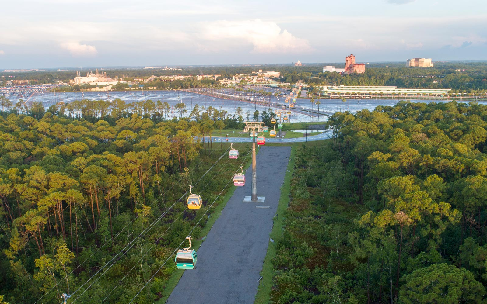 Here's when Disney World's highly anticipated sky gondolas will open
