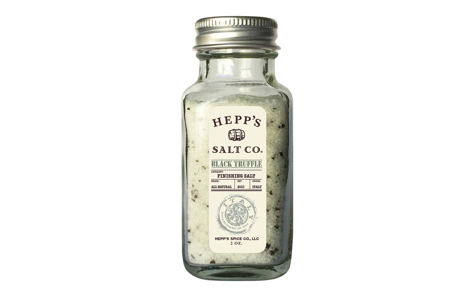 Hepp's Black Truffle Salt