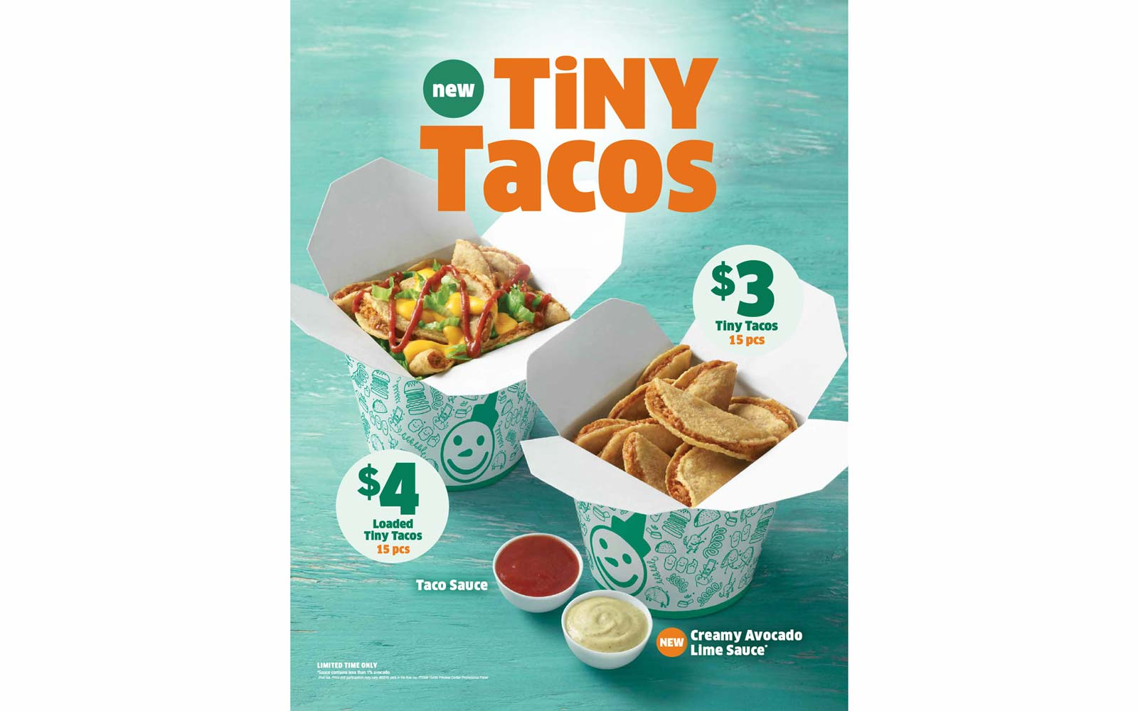 Jack in the Box Tests Snackable 'Tiny Tacos' in Three Cities