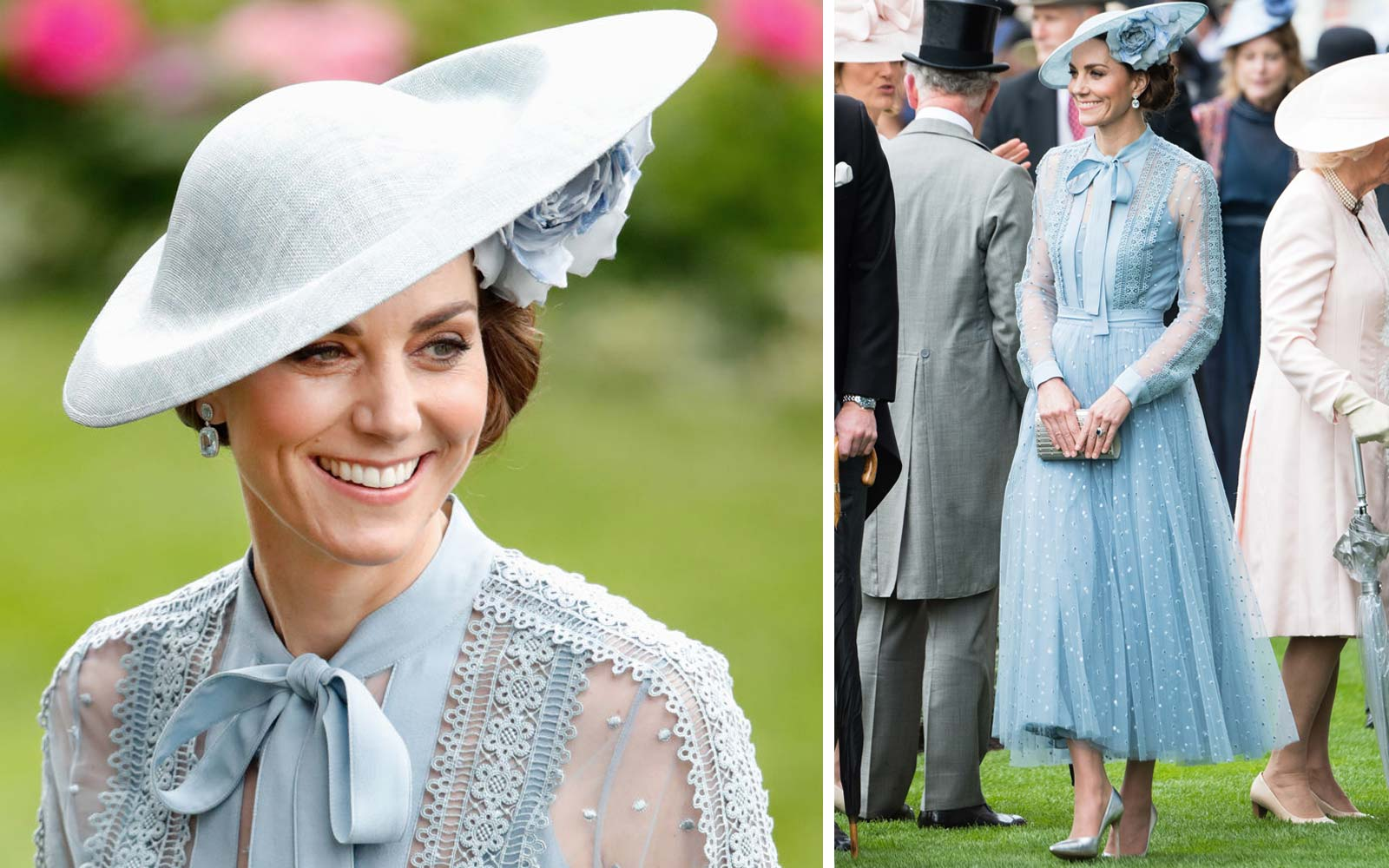 Catherine, Duchess of Cambridge attends day one of Royal Ascot at Ascot Racecourse