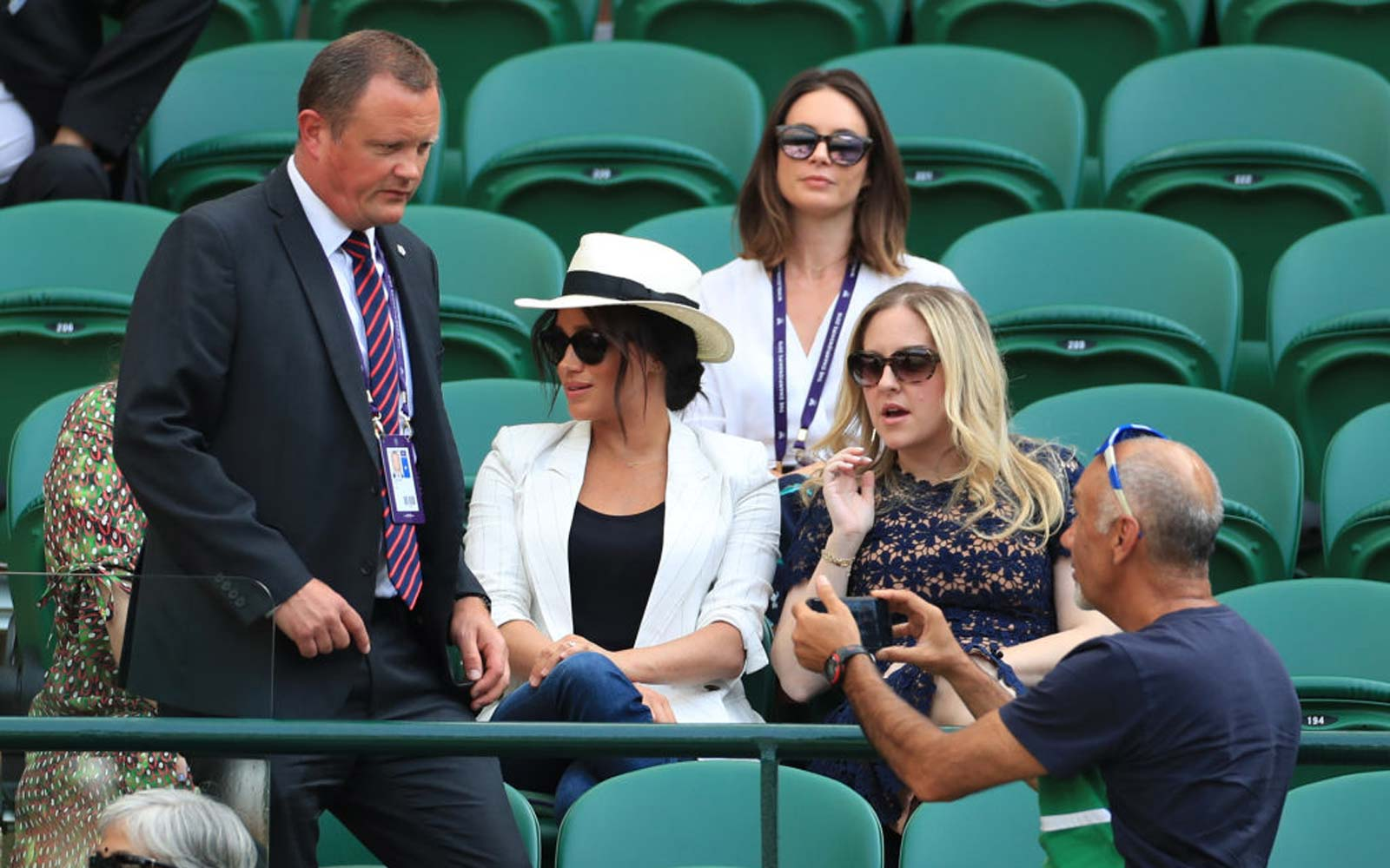 Meghan Markle Went Off-duty to See Friend Serena Williams Play at Wimbledon — and She Banned People From Taking Her Photo