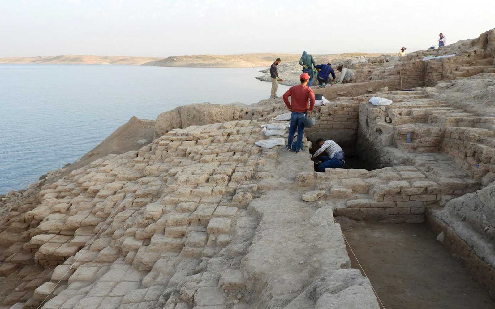 Archaeologists uncover palace of the Mittani Empire in the Duhok province of the Kurdistan Region/ Iraq