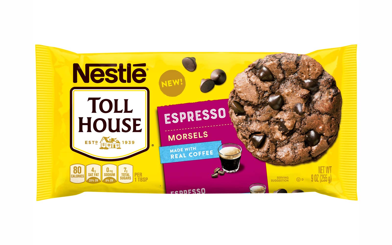 Nestlé Just Released Espresso Chips, and Yes, They Have Actual Coffee in Them