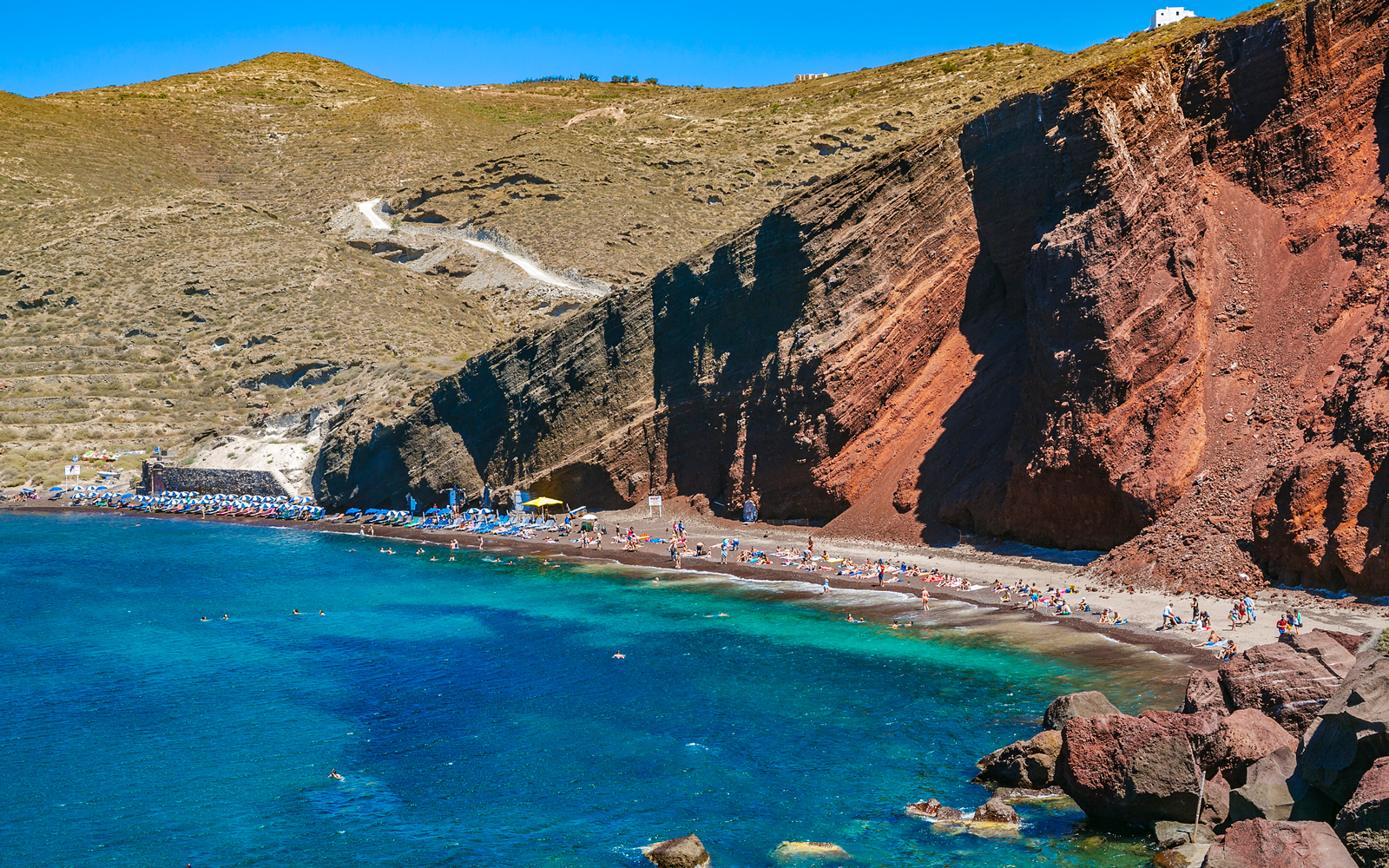 Red Beach Santorini, Greece