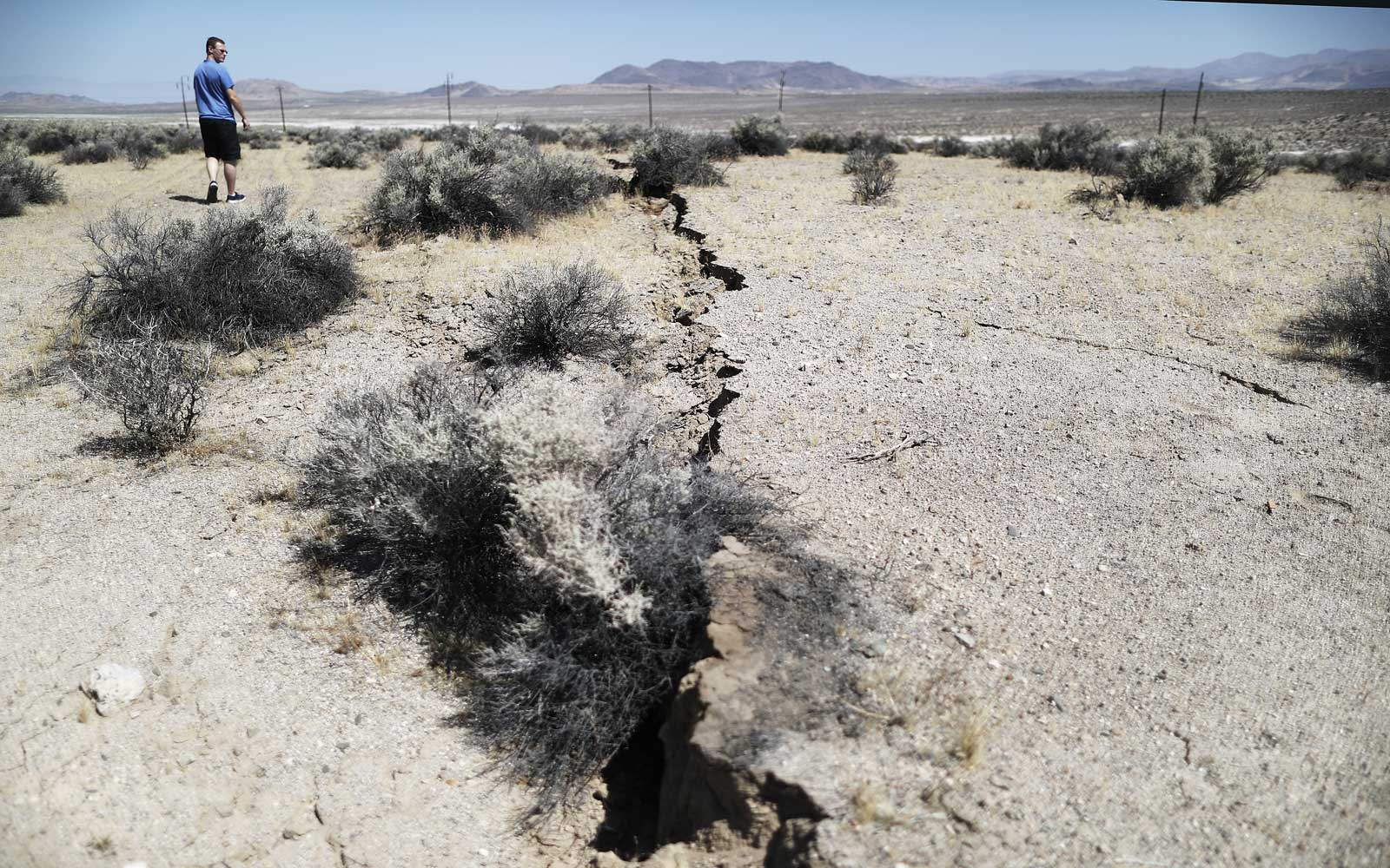 Southern California Earthquake July 2019 Damage