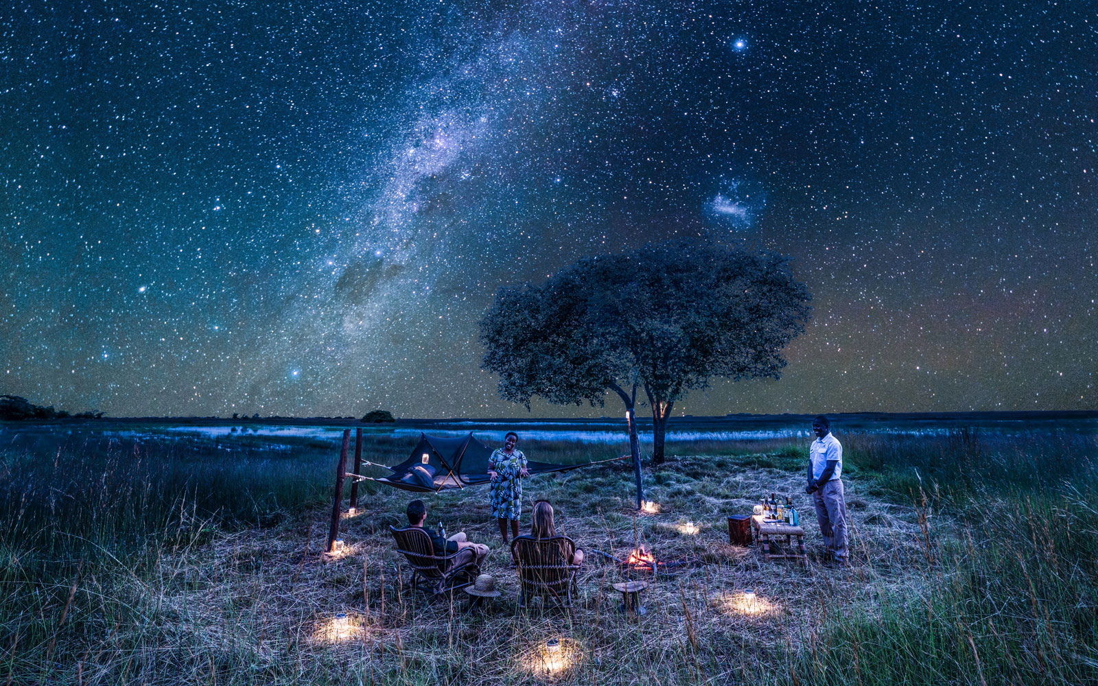 This Sleepout Under the Stars in Zambia Is a Nature-lover's Dream Trip