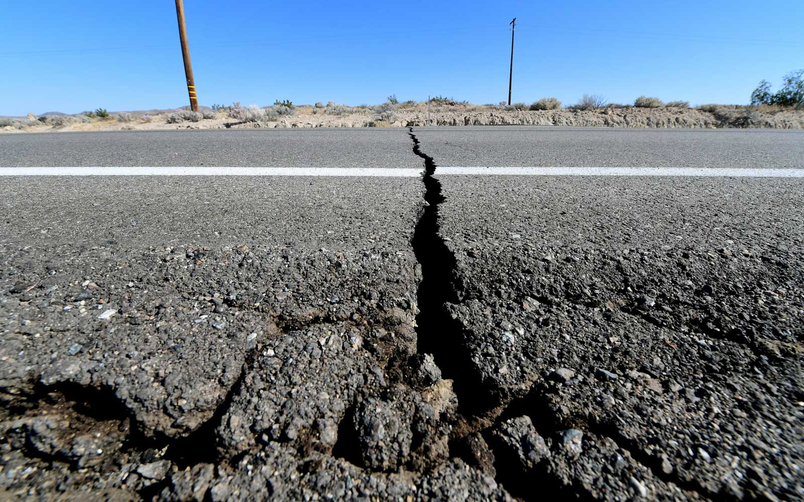 Satellite Images Show Large Crack Formed in the Earth After California's Earthquake