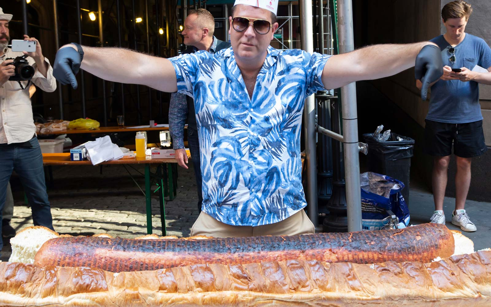 The 'World's Largest Hot Dog' Is 5 Feet Long and 66 Pounds