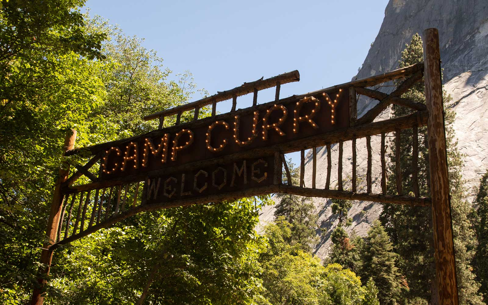 Yosemite National Park, Camp Curry
