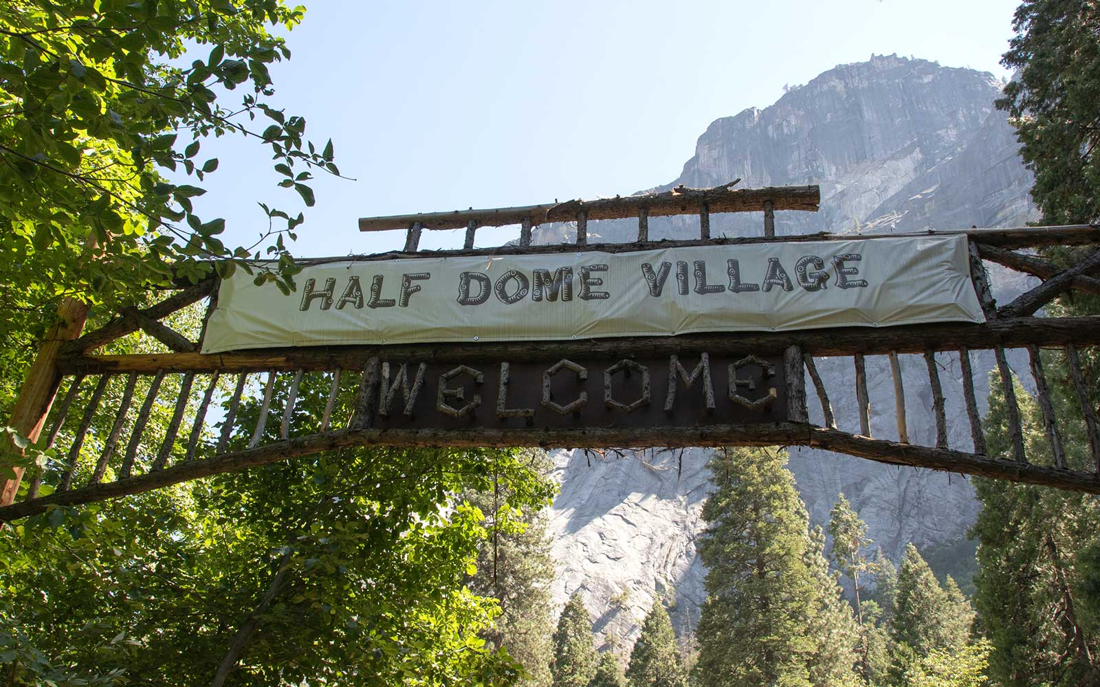 Yosemite National Park, Half Dome Village
