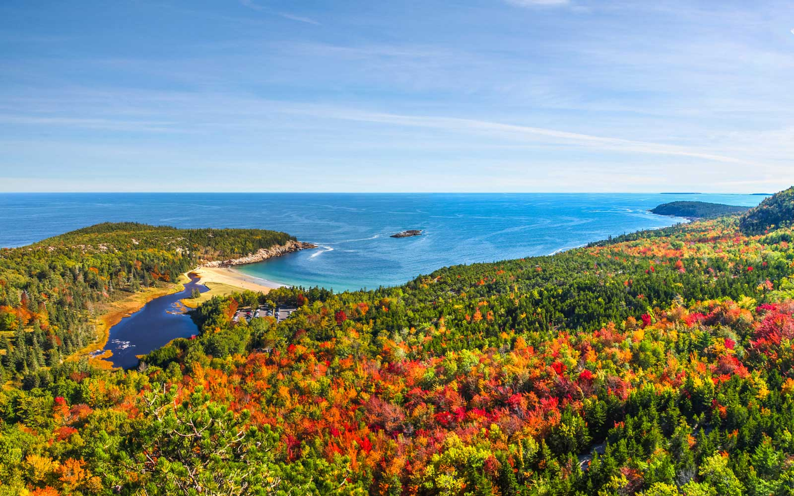 Bay in Acadia National Park