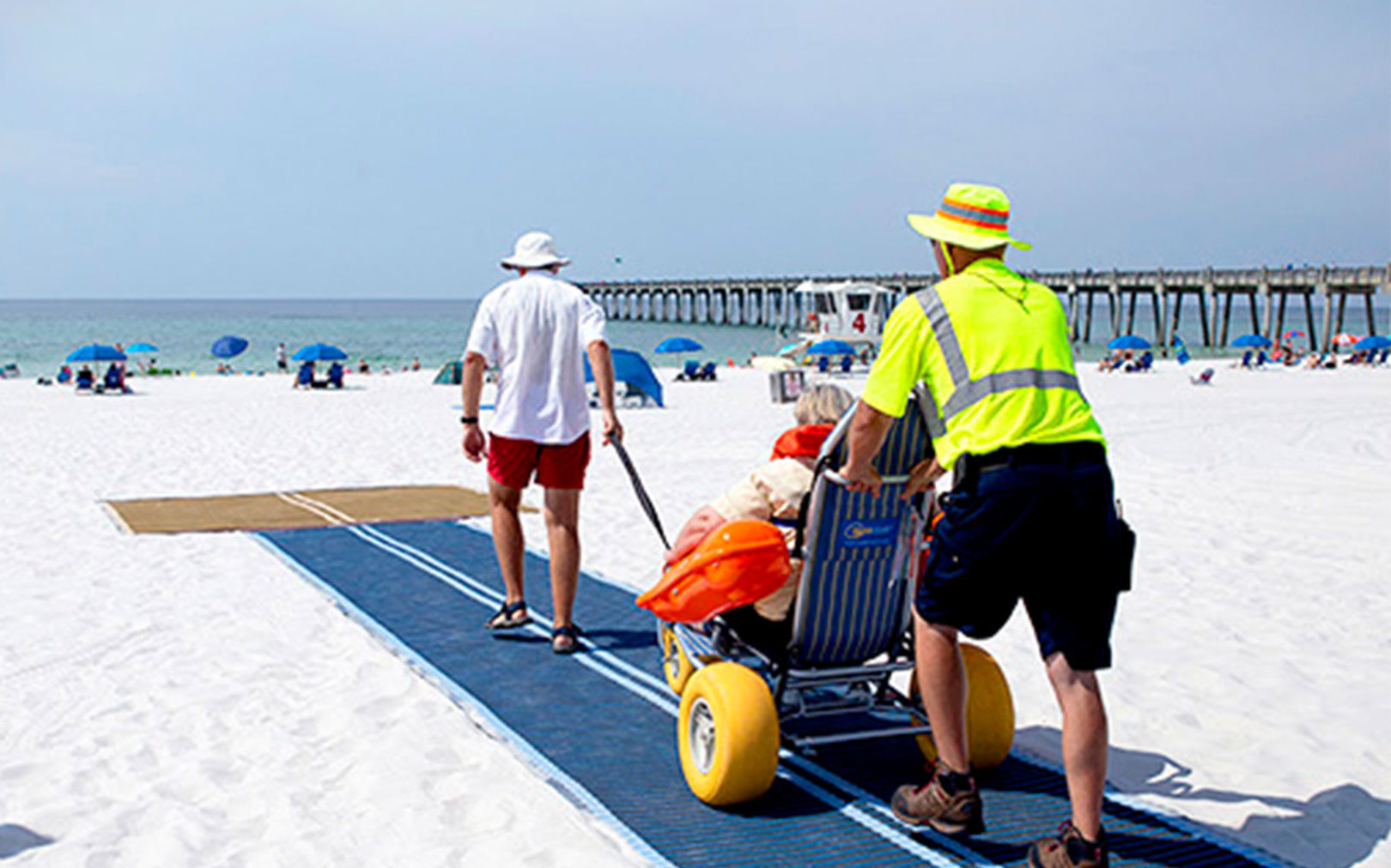 Pensacola Beaches Are Now Accessible to People in Wheelchairs