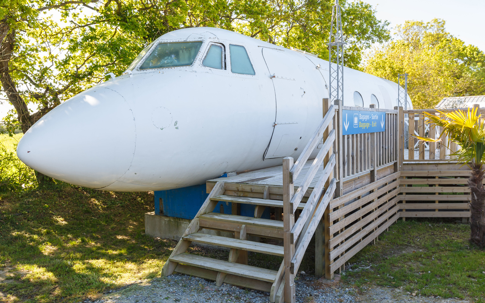 This Airplane in France Is Actually an Airbnb — and the Cockpit Is the Bathroom