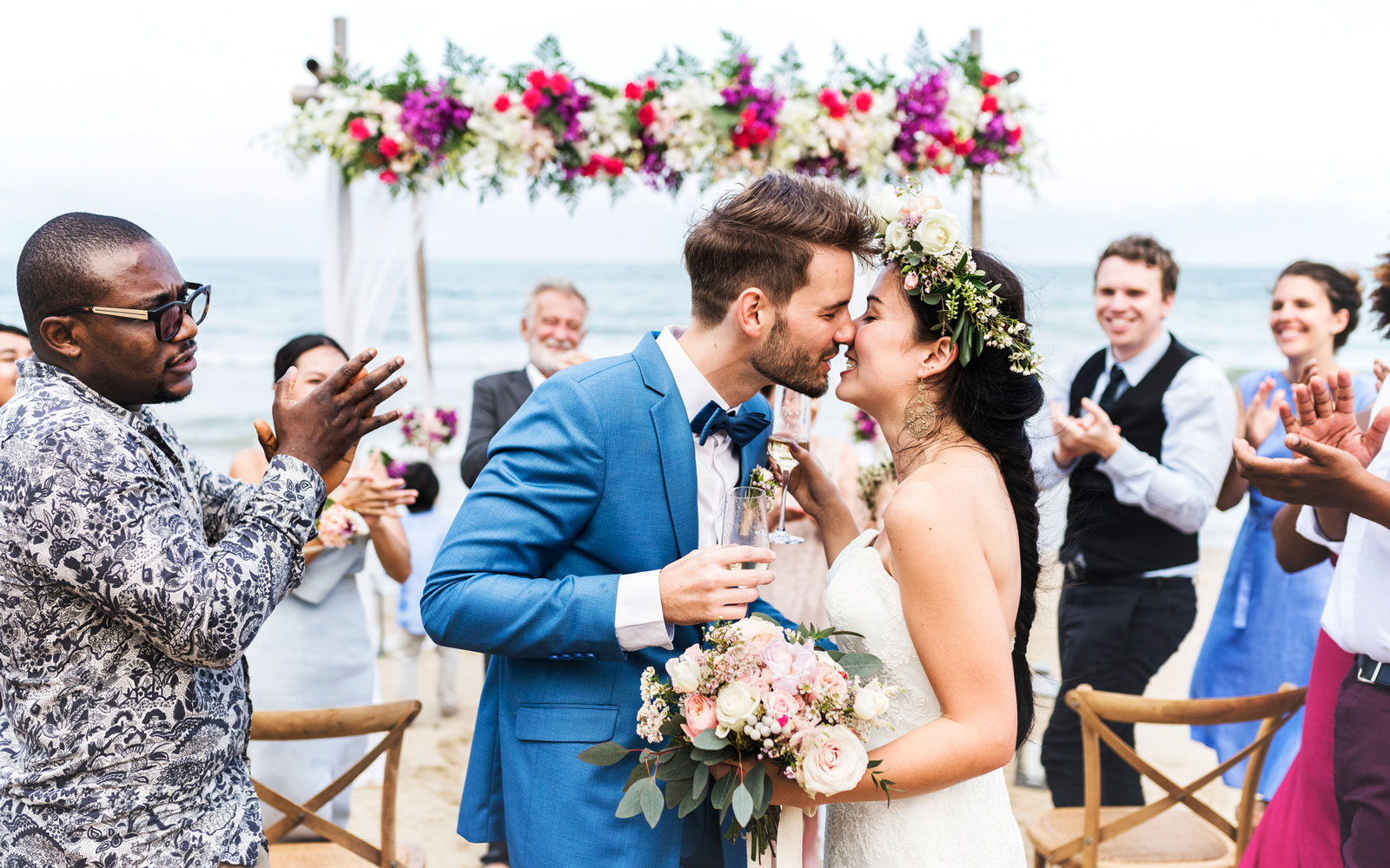 Your Friends Don't Like Using Their Vacation Days to Celebrate Your Wedding, Study Shows
