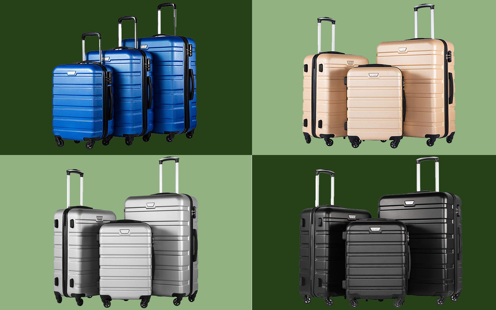 Amazon's Best-selling Luggage Set Includes Three Suitcases for Under $140