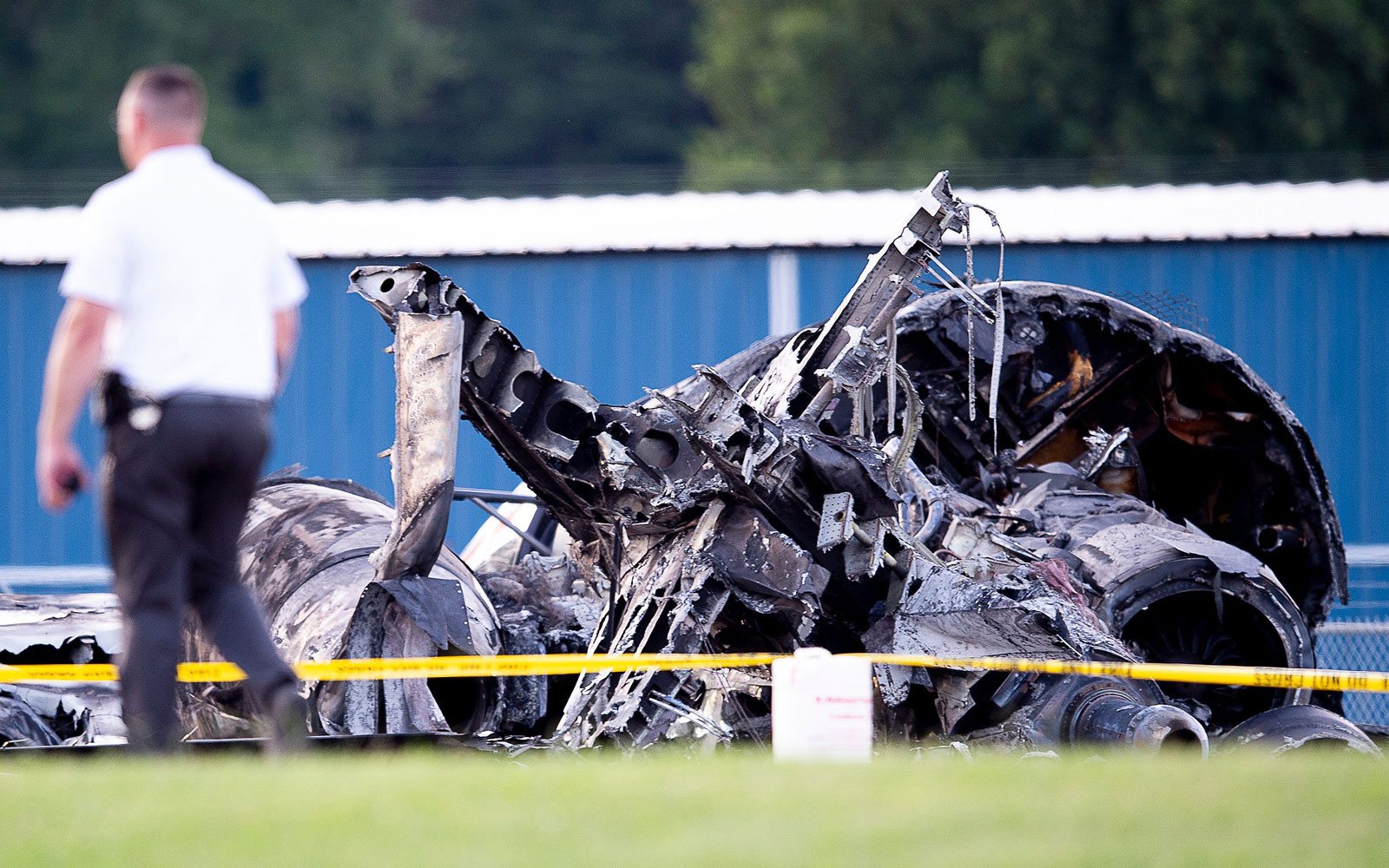 Dale Earnhardt Jr.'s Plane 'Bounced' Twice on Runway Before Crashing, NTSB Says