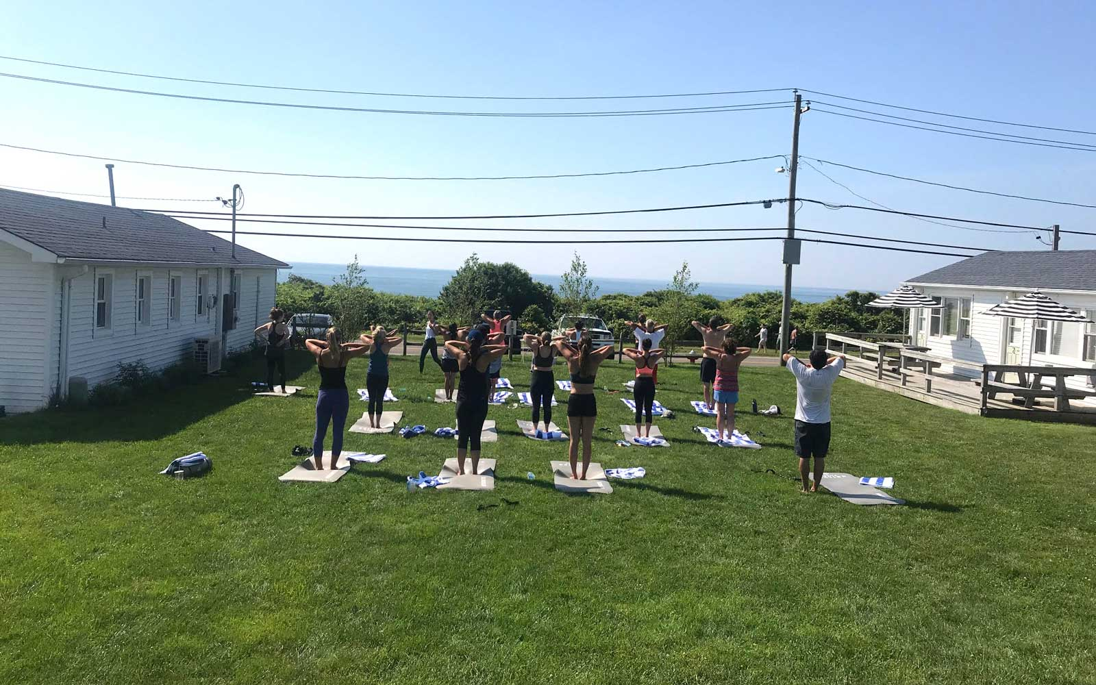 Yoga at The Breakers Montauk