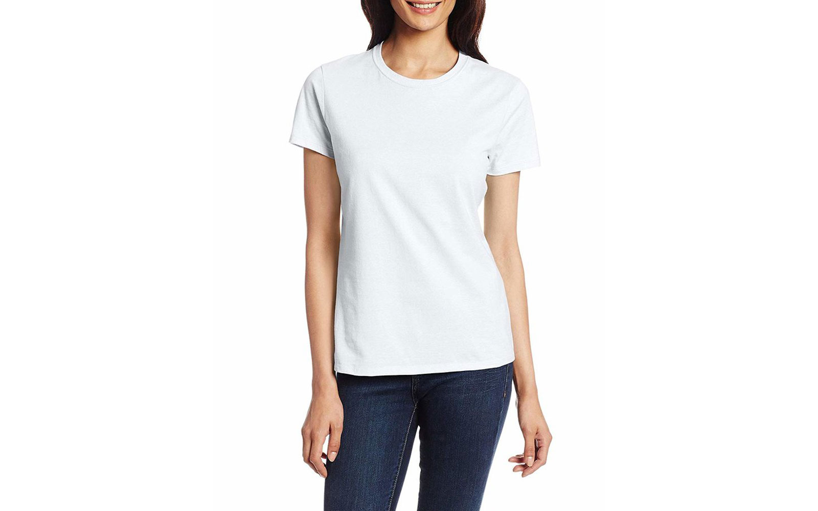 The $6 White T-Shirt With Nearly 2,000 Five-Star Reviews on Amazon Is Also Celebrity-Approved