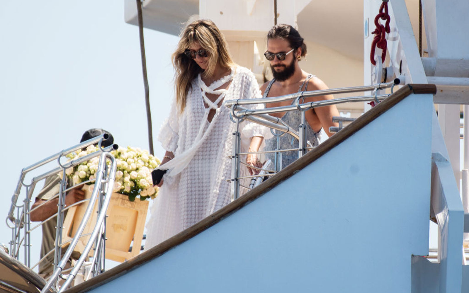 Heidi Klum and Husband Tom Kaulitz Celebrated Their Wedding on the Same Yacht Jackie O and Grace Kelly Had Their Wedding Receptions