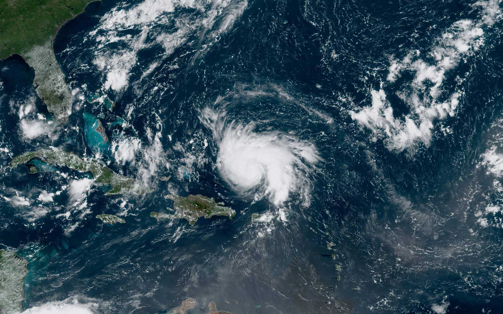 Hurricane Dorian Is Headed for Florida As It Strengthens Into a Category 3 Storm