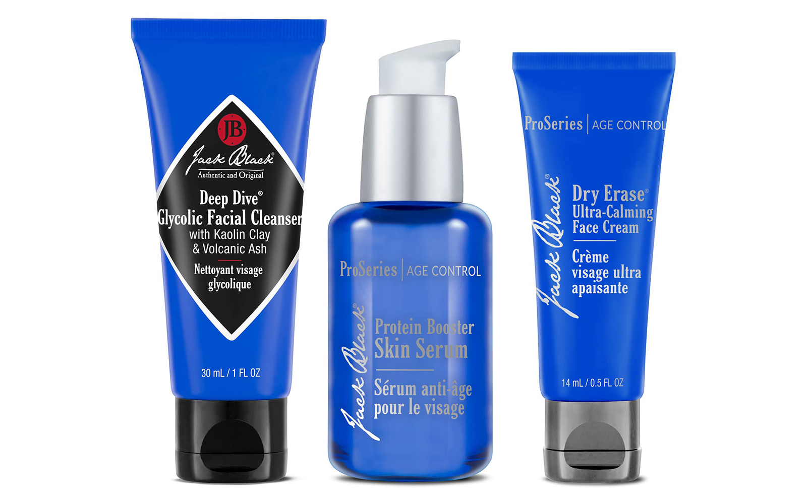 Jack Black Skin Care Essentials Set