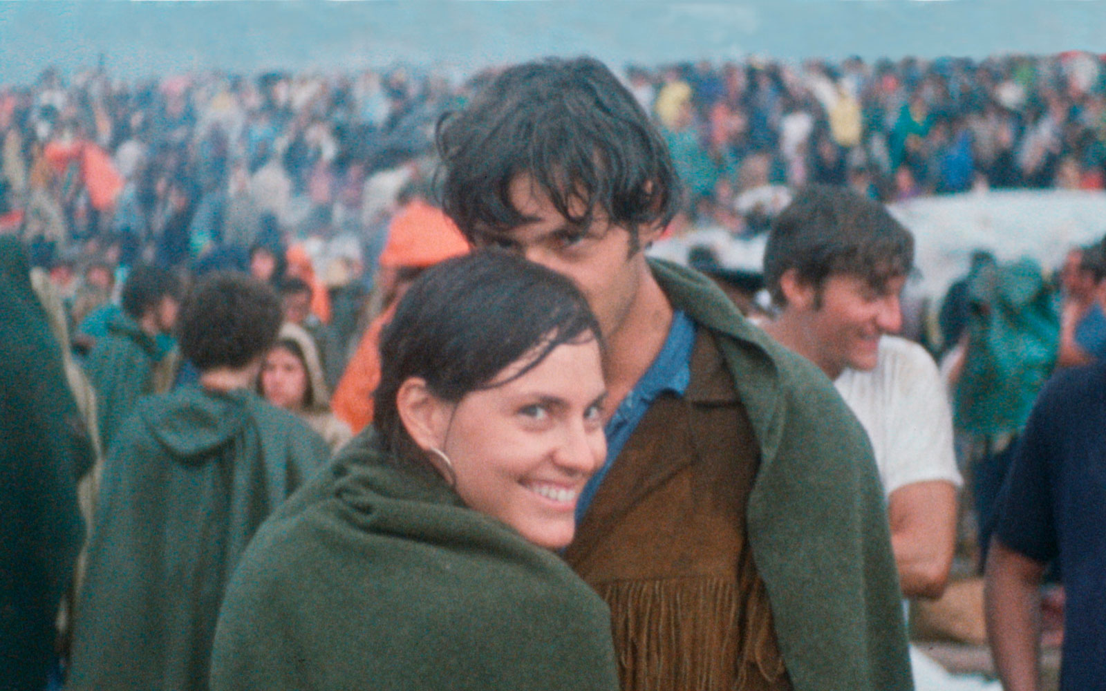 This Couple Met at Woodstock. 50 Years Later, They Found a Photo of Their First Hours Together