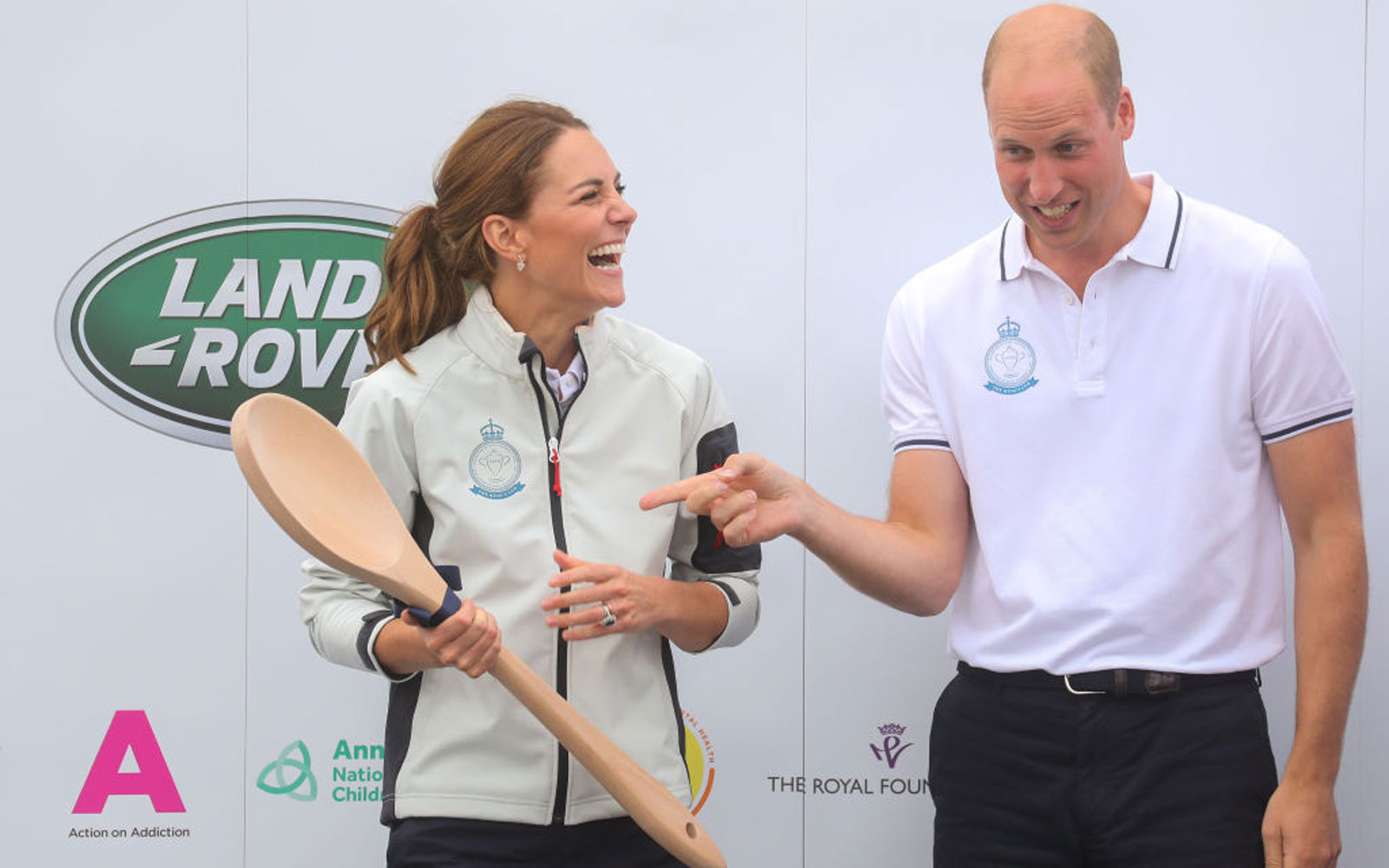 The Duke And Duchess Of Cambridge Take Part In The King's Cup Regatta