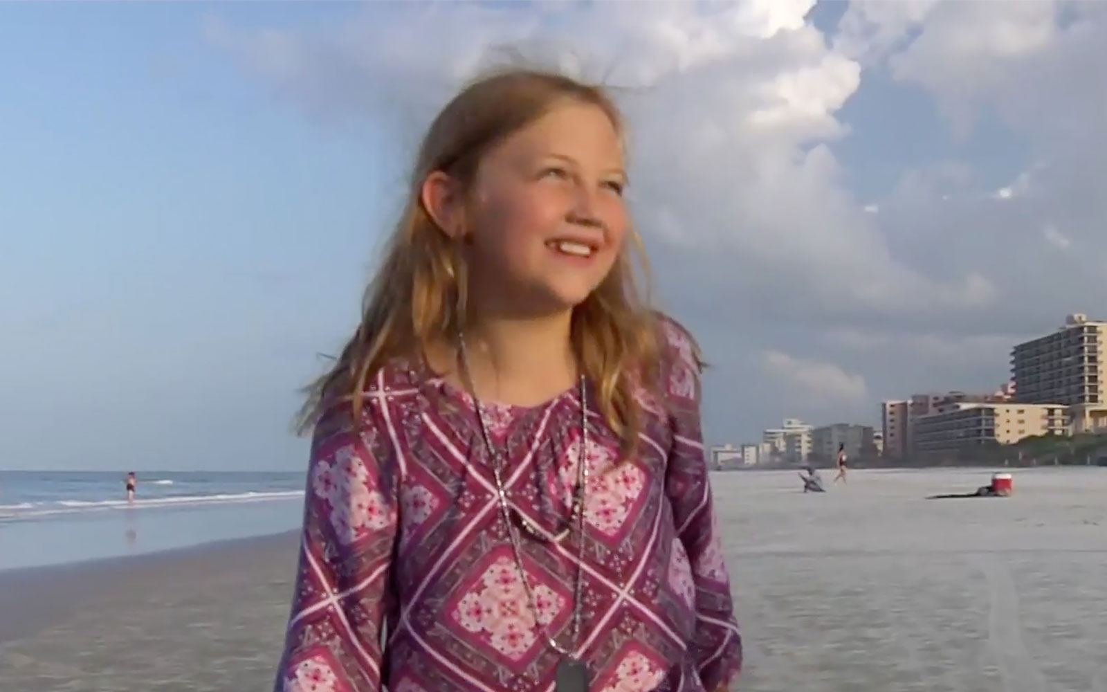 This 9-year-old Girl Says She'll Return to the Water After Surviving Shark Attack