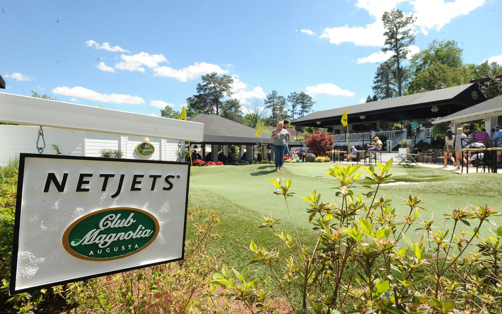 NetJets at The Masters