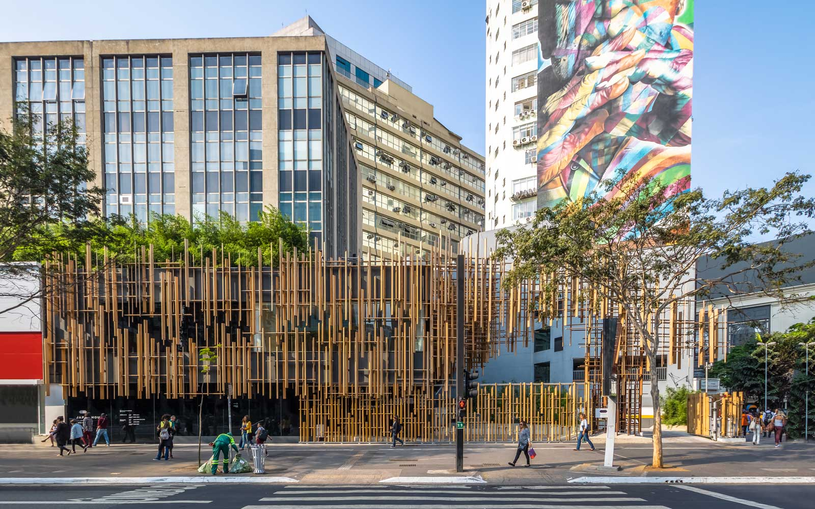 Avenida Paulista, São Paulo's Main Financial Street, Is Becoming a Hub for Art
