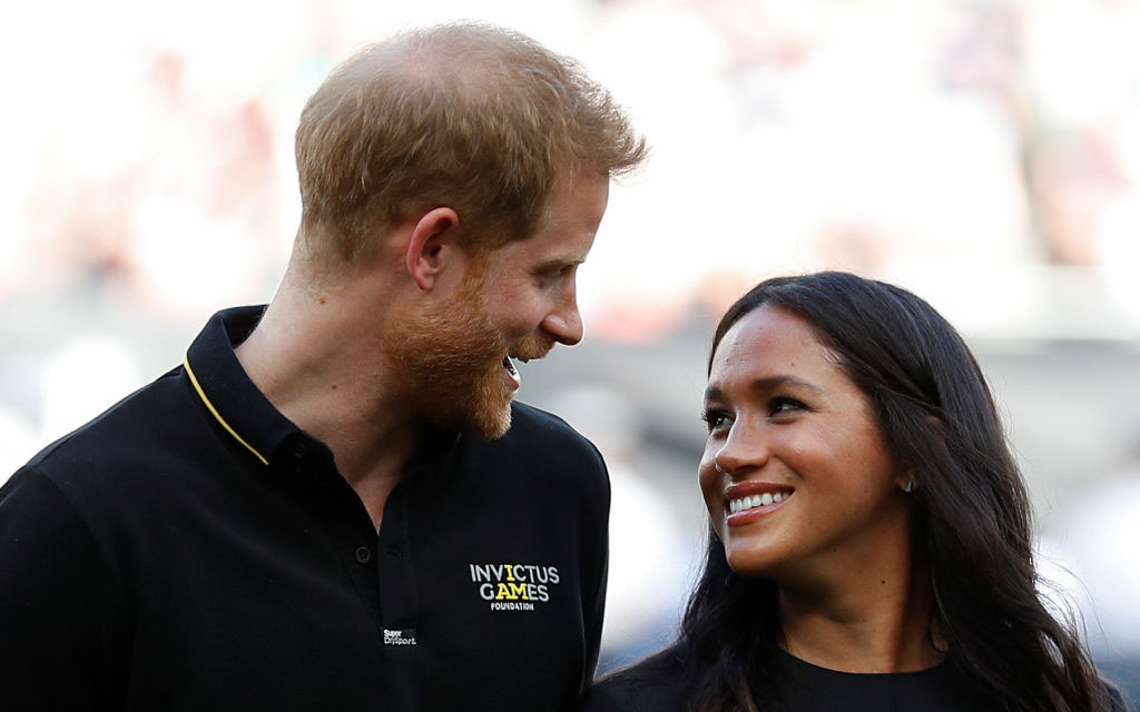 Prince Harry Wishes 'Amazing Wife' Meghan Markle Happy Birthday in Loving Message