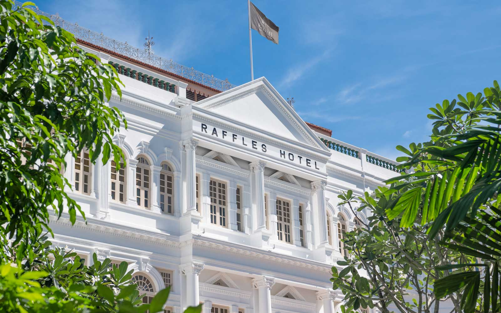 Singapore's Most Historic Hotel Reopens After 2-year Renovation