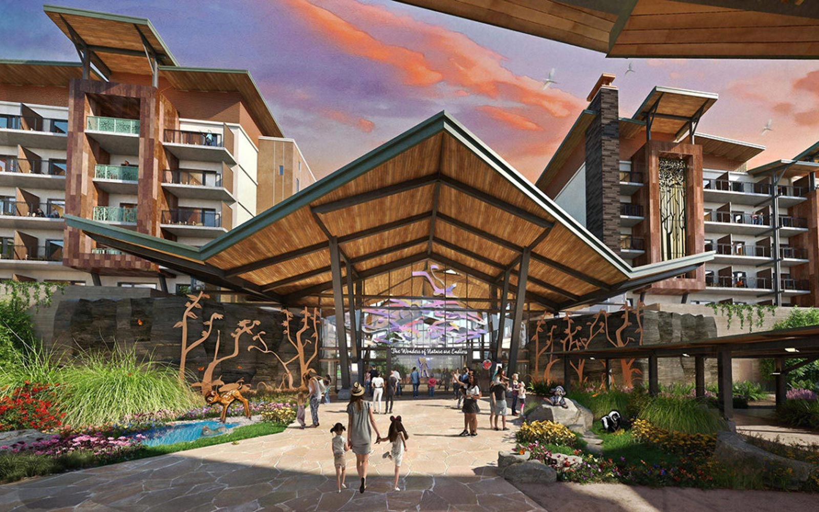 Disney World's New Luxury Hotel Will Have Chic Tree Houses and Waterfront A-frame Cabins
