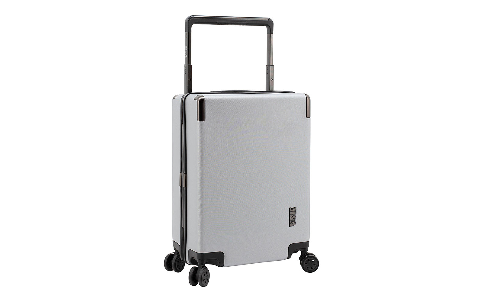 Travelers Club Luggage M&A Lake Forest 20  Wide Trolley Rolling Carry-On Suitcase