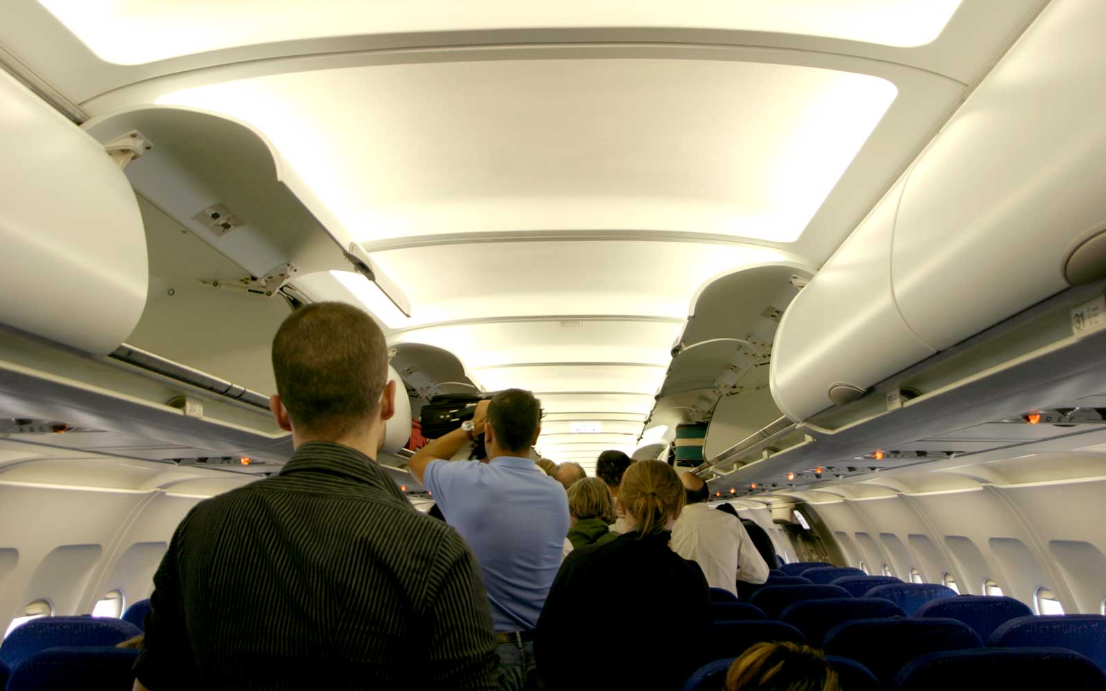 This Flight Attendant's Video Is Proof That People Can Exit a Plane in a Calm and Orderly Fashion