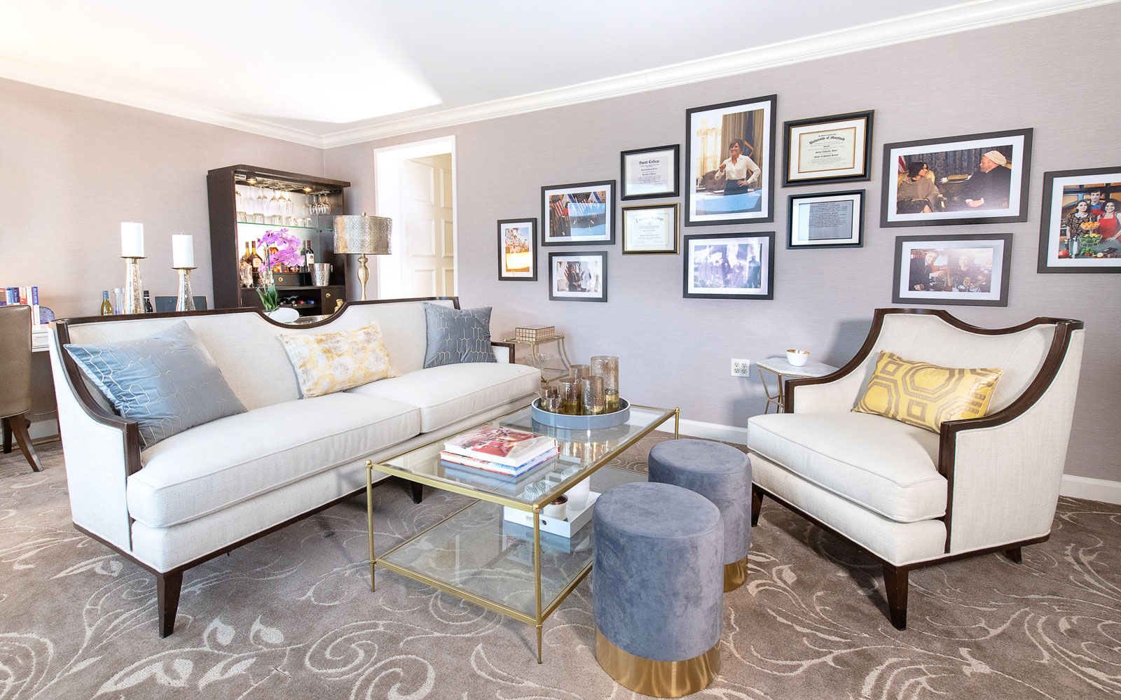 Selina Meyer Presidential Suite at The Hamilton Hotel