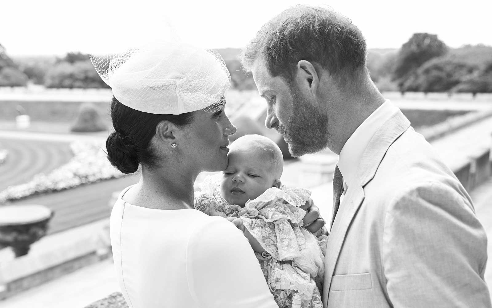 Meghan Markle Shares Never-before-seen Archie Photo in Sweet Birthday Message to Prince Harry