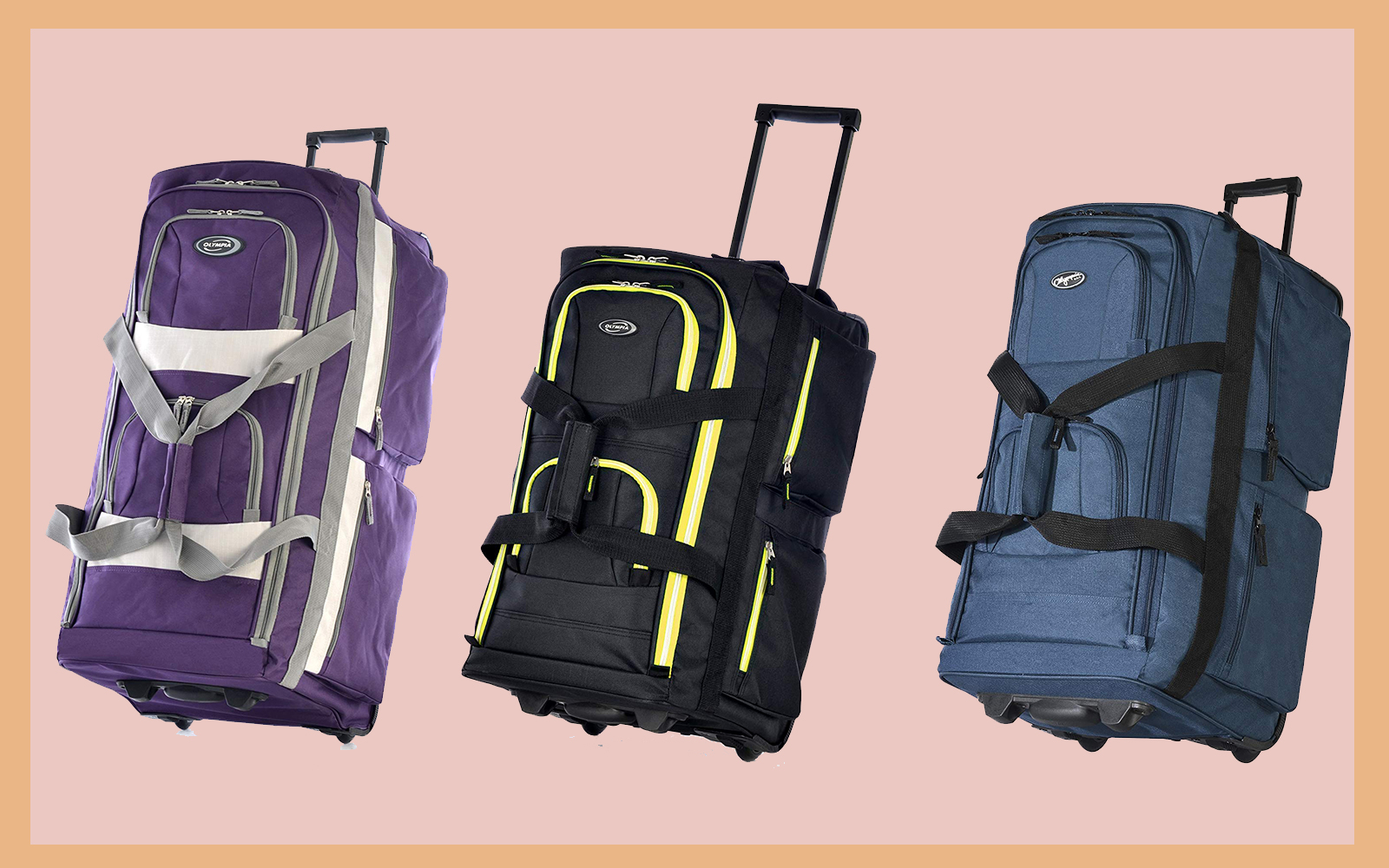Amazon's Best-selling Duffel Bag Has 8 Spacious Pockets and Comes in 19 Different Colors