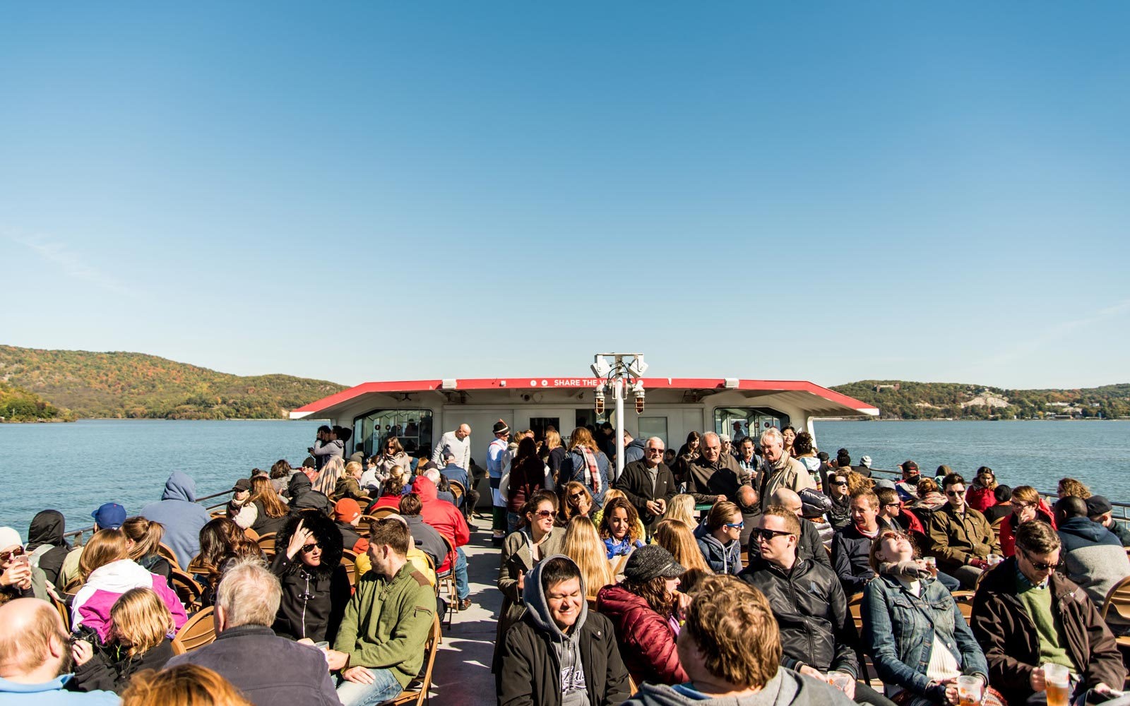 This Day Trip Will Have You Peeping Fall Foliage and Celebrating Oktoberfest While Cruising the Hudson River