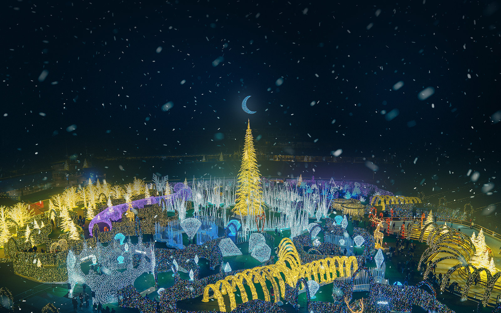 Enchant World's Largest Christmas Maze